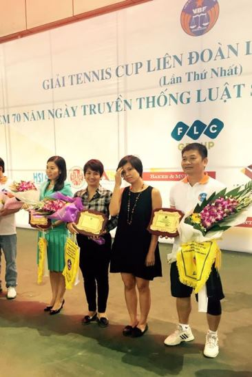 ATS Law Firm co-organized and participated in the Tennis Tournament 2015 of Vietnam Bar Federation