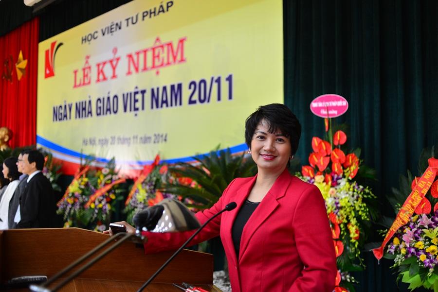 Celebration for Vietnamese Teachers' Day 2014 at Judicial Academy