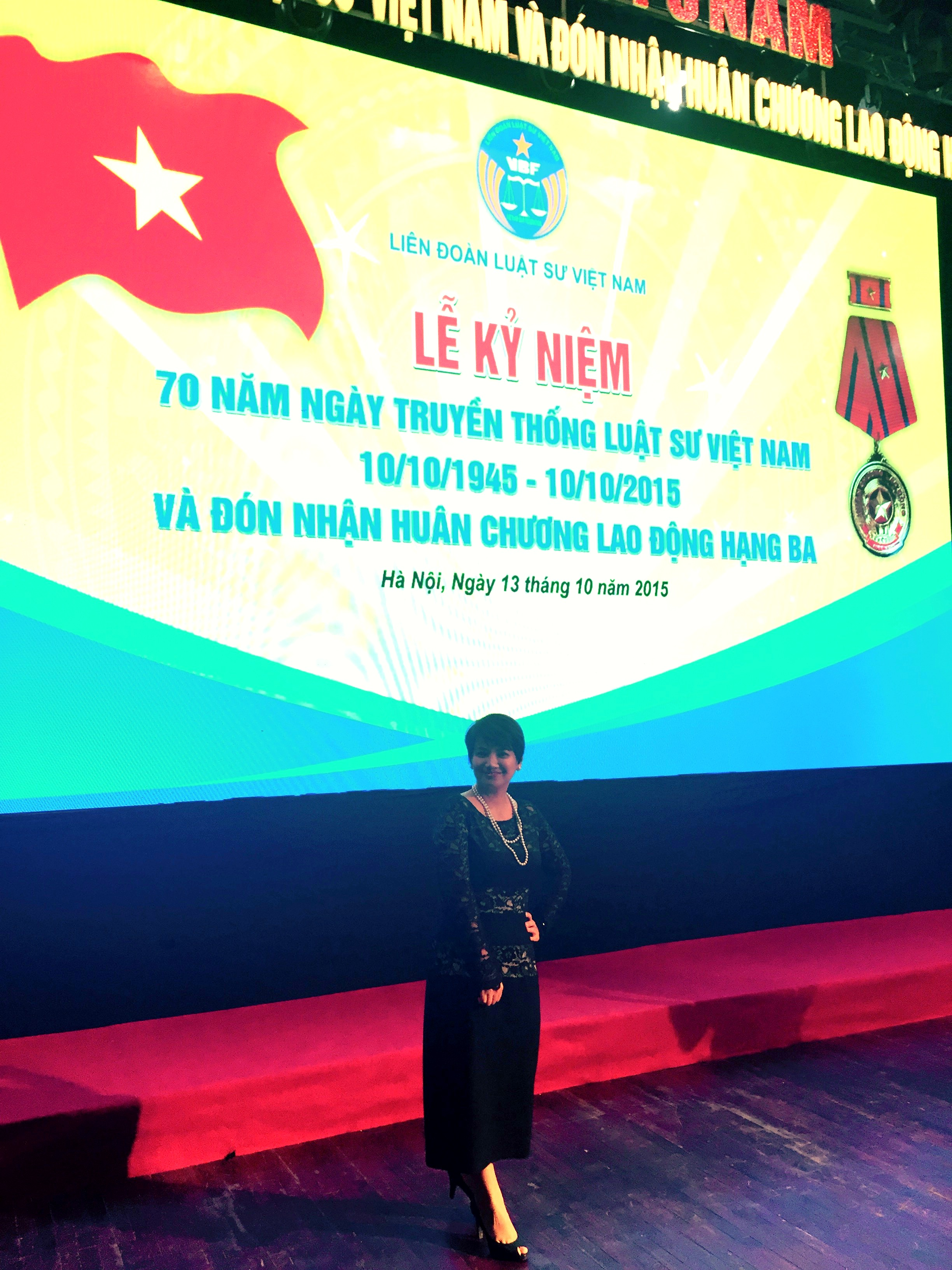 Ms. Vu Thi Thu Ha participated in the 70th Anniversary of Vietnamese Lawyers' Traditional Day